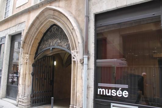Entrée du musée de l'imprimerie